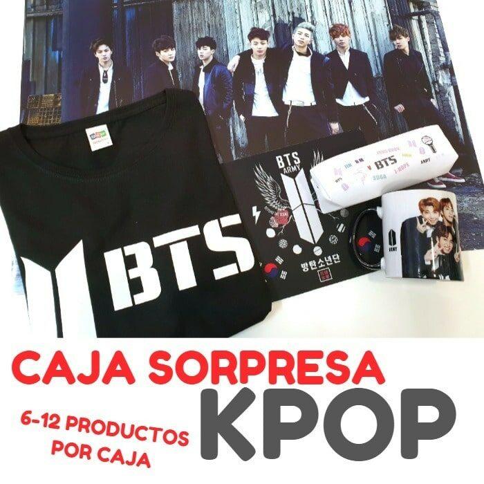 caja surprise kpop