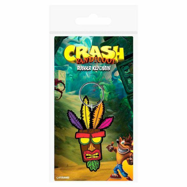 Llavero Crash Bandicoot Aku Aku