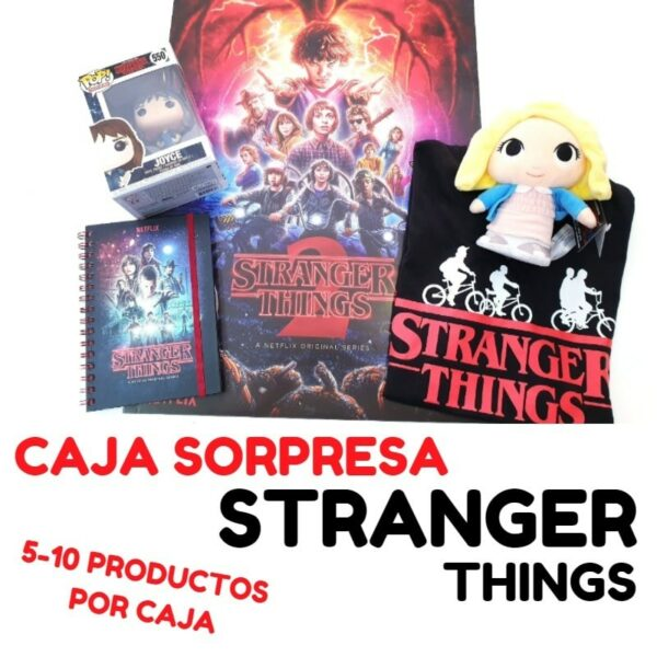 caja sorpresa stranger things