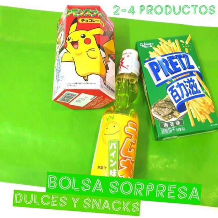 bolsa sorpresa snacks