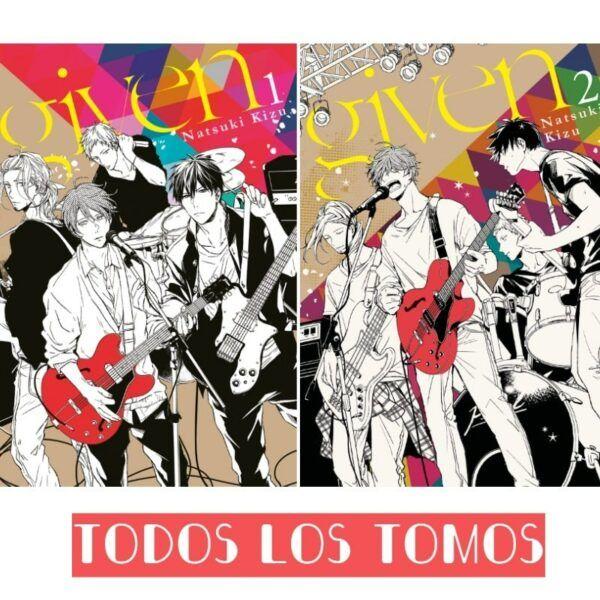 manga given