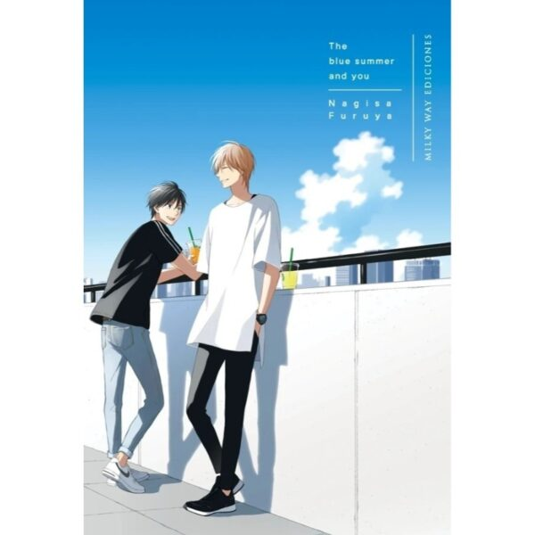 Manga The blue summer and you