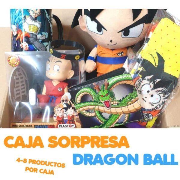 caja sorpresa dragon ball