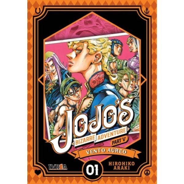 Manga Jojo's Bizarre Adventure Vento Aureo