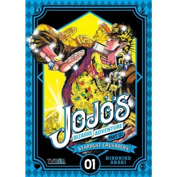 Manga Jojo's Bizarre Adventure Stardust Crusaders