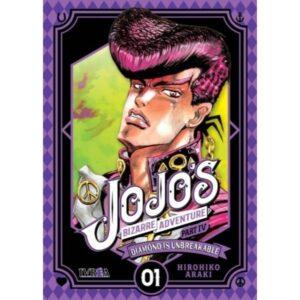 Manga Jojo's Bizarre Adventure Diamond is Unbreakable