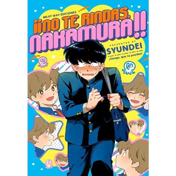 Manga No te rindas Nakamura