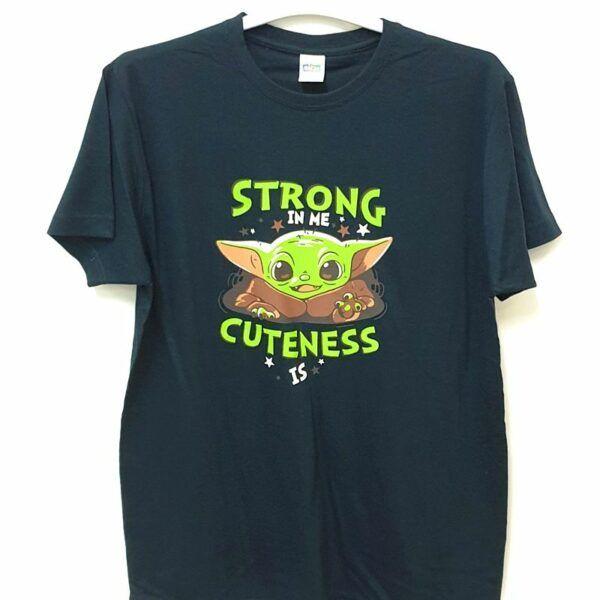 Camiseta Mandalorian Baby Yoda