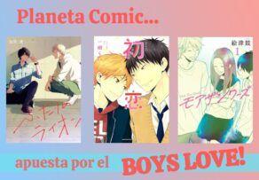 Planeta Comic lanza una nueva línea de Mangas BL