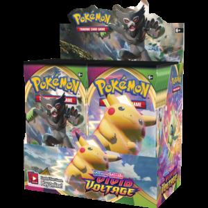 Promocion 36 Sobres Pokemon Voltaje Vivido