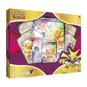 caja coleccion pokemon alakazam v