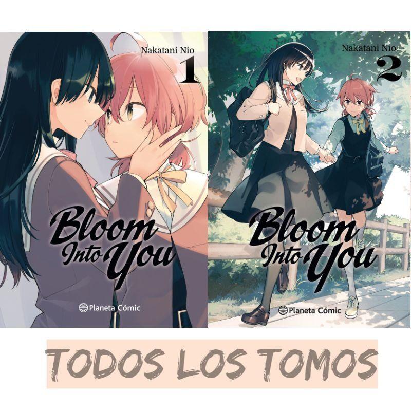 manga bloom into you