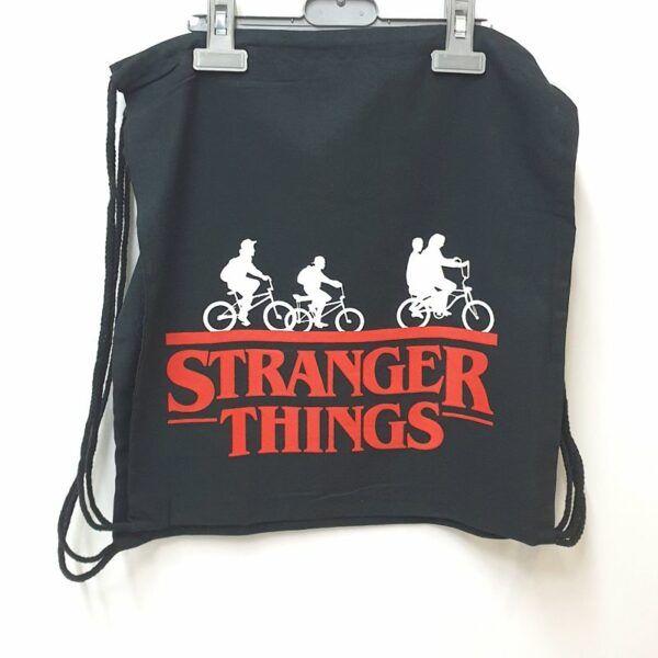 mochila saco stranger things