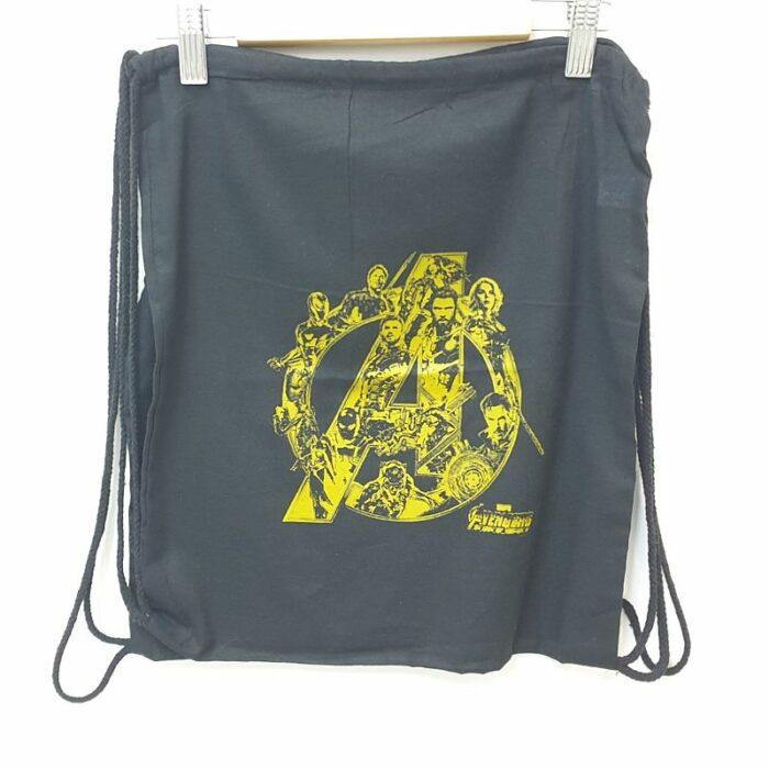 mochila saco vengadores