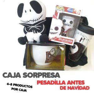 CAJA SORPRESA PESADILLA ANTES DE NAVIDAD 59,95€