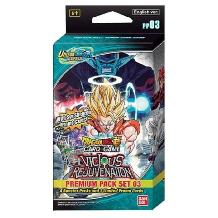 Dragon Ball Super Premium Pack Set 03 Unison Warrior