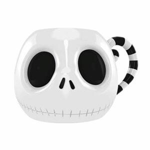 Taza Pesadilla Antes de Navidad 3D Jack Skeleton