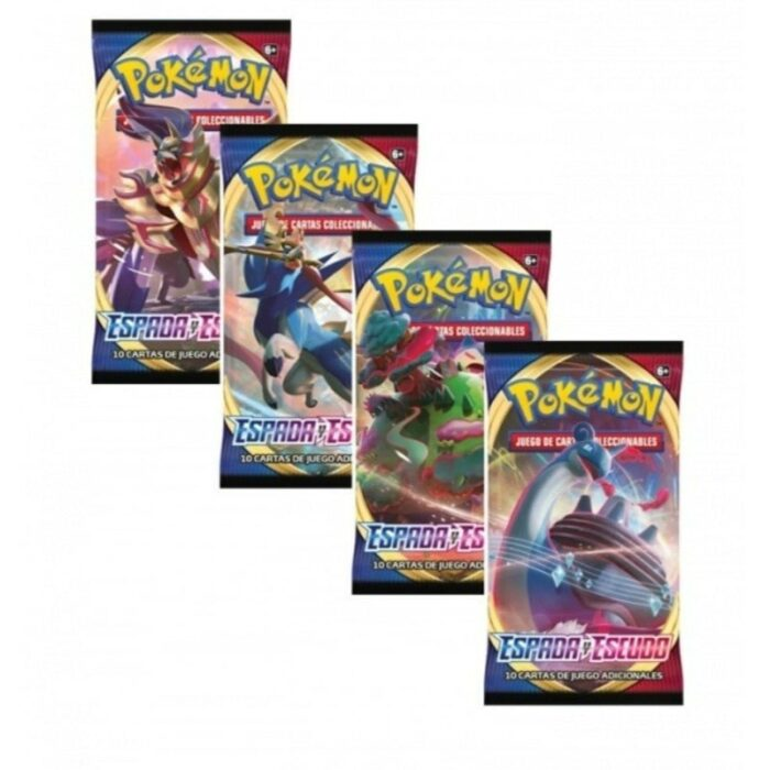 Promocion 36 Sobres Pokemon Espada y Escudo