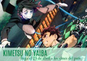 Estreno Película Kimetsu no Yaiba en los cines españoles