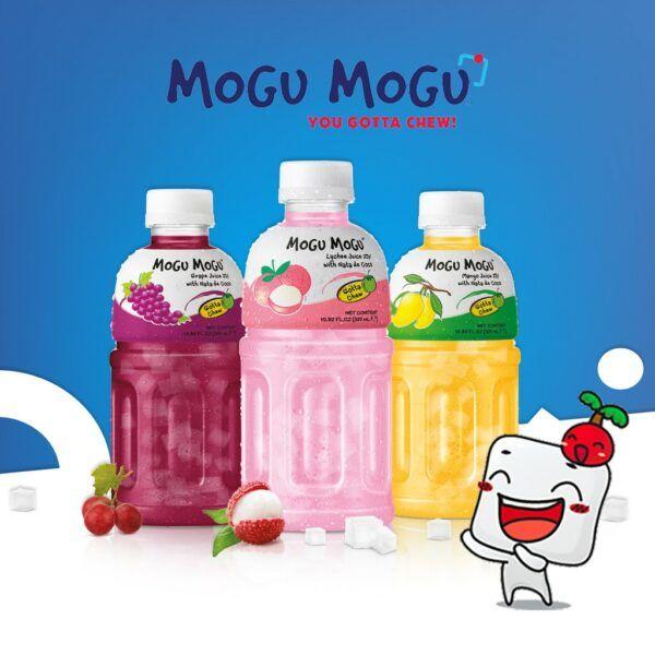 Mogu Mogu de diferentes sabores