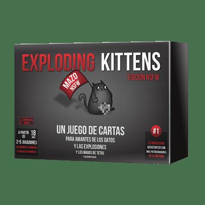 Exploding Kittens Edición NSFW Juego de Mesa