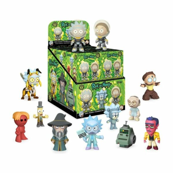Figura Mystery Minis Rick y Morty