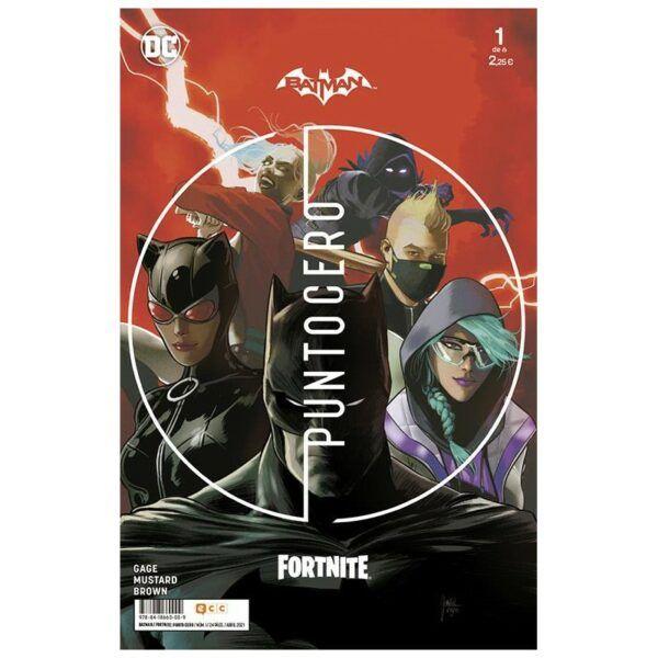 Comic BATMAN FORTNITE PUNTO CERO Todos los numeros