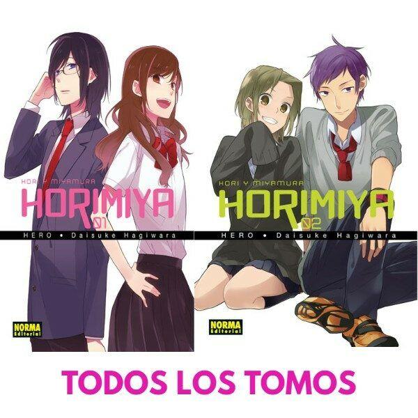 Manga Horimiya Todos los tomos