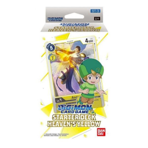 Starter Deck Digimon Heaven's Yellow ST-3 (INGLÉS)