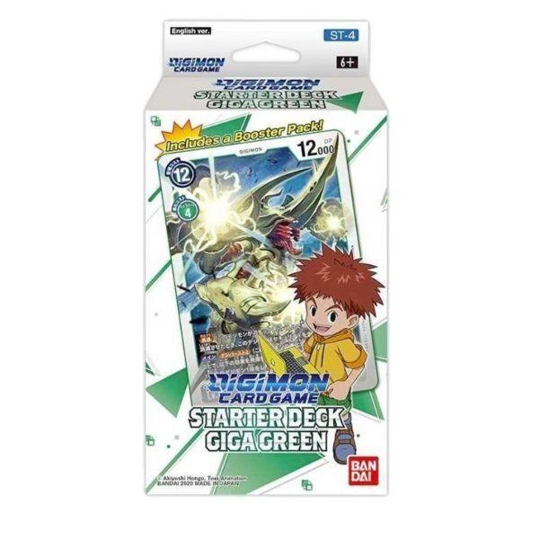 Starter Deck Digimon Gigagreen ST-4 (INGLÉS)