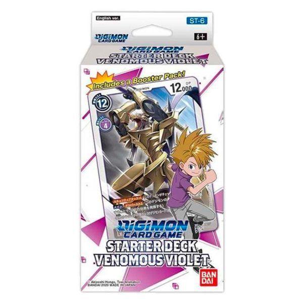 Starter Deck Digimon Venomous Violet ST-5 (INGLÉS)