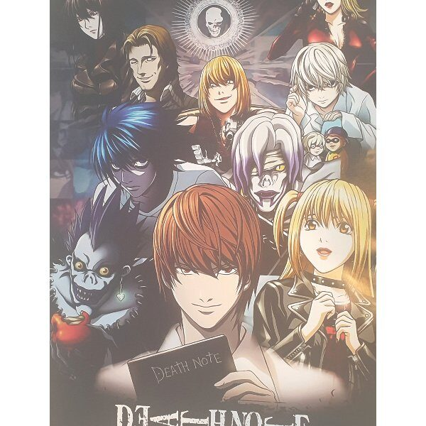 poster death note anime
