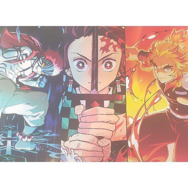 Poster Kimetsu no Yaiba El tren infinito