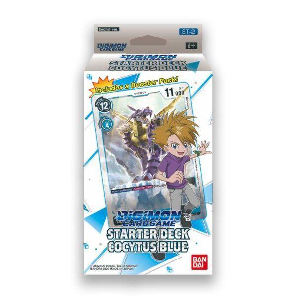 Starter Deck Digimon Cocytus Blue ST-2 (INGLÉS)